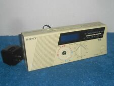 Sony Am/Fm Vintage Digital Radio Alarm Clock Ez-3 Dream Machine