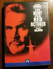 The Hunt For Red October - DVD Movie - Sean Connery - Like New