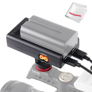 ZGCINE NP-F Multi Use Powering Adapter With 1/4 Mount For F550 F750 F970 Battery