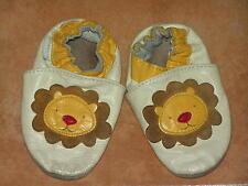 Robeez Krabbelschuhe mit Löwen Motiv  Gr. 6-12 Monate für Jungen oder Mädchen