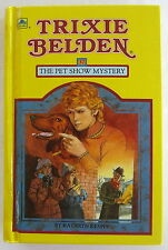 TRIXIE BELDEN #37 The Pet Show Mystery Kathryn Kenny 1st Edition Hardcover