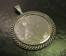 Münzanhänger Anhänger Münze 835er Silber Maria Theresia Maria-Theresien-Thaler