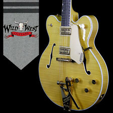 Gretsch G6122TFM Players Edition Country Gentleman Amber Stain Guitar