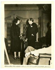 KATHARINE HEPBURN, ADOLPHE MENJOU original movie photo 1937 STAGE DOOR