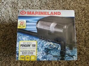 Marineland Penguin 150 Bio-Wheel Power Filter 20 to 30 Gallon 150 GPH Open Box