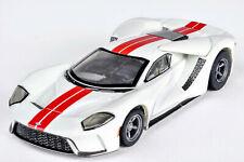 AFX 22021 White/Red Ford GT Mega G+ HO Slot Car Autoworld AFX22021 MegaG+