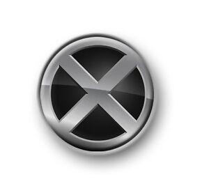"X-MEN / 1"" / 25mm pin button / badge / Marvel / Wolverine / Stan Lee / Mutant"
