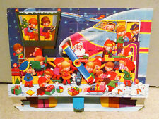 Old Denmark 3-D Pop-up Action Airplane Plane Elves Christmas Advent Calendar