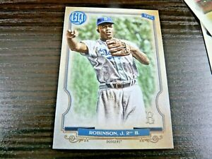 2020 TOPPS GYPSY QUEEN JACKIE ROBINSON HIGH NUMBER SP CARD # 320