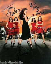 Desperate Housewives Cast 8 x 10 Autograph Reprint Teri Hatcher Eva Longoria +3