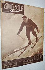 MIROIR SPRINT N°94 1948 SKI COUTTET BOXE CERDAN-ROACH FOOTBALL RUGBY CROSS