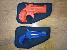 Derringer Jean Pocket Pistol Holster Fits NAA,Cobra, Davis, 22 Lr , 22 Mag ,32
