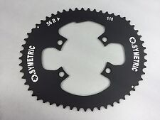 Osymetric BCD 110mm 4 Bolts 56T Road Bicycle Outer Chain Ring