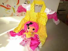 Lalaloopsy Crumbs Sugar Cookie Doll  & Dress for Girls Size 4-6   Lot R3