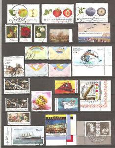 Briefmarken Deutschland 2010,Sammlung auf zwei Bildern.