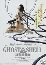 Ghost In The Shell Movie Poster Anime Japanese Animation