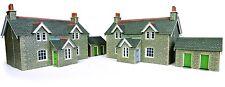 Metcalfe PO255 Workers Cottages.(00 Gauge) Railway Model Kit