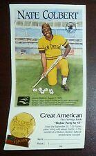 Nate Colbert 1972 San Diego Padres Commemorative Pin Stadium Giveaway SGA 1987