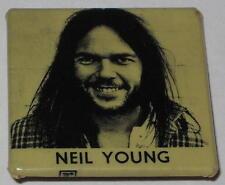 """Original Neil Young Tour Pin 1.5"""" x 1.5"""""""