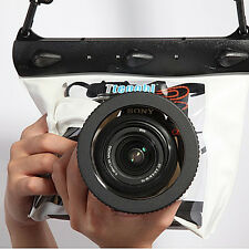 DSLR SLR Digital Camera Waterproof Housing Underwater Dry Case Bag F Canon Nikon