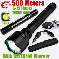2000 Lumen CREE XML T6 LED 18650 Rechargable Tactical Flashlight Torch + Holster
