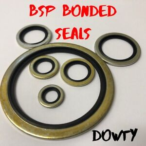 Bonded seals (Dowty Seal) Self Centering Hydraulic Oil Seal Washer BSP