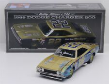 BOBBY ALLISON #22 1969 AUTOGRAPHED DODGE CHARGER 500 1/24 SCALE NEW FREE SHIP