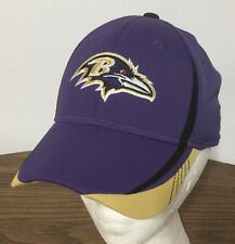 Baltimore Ravens REEBOK OnField Adult Sz S/M Stretchfit Purple Hat Baseball Cap