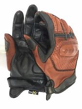 Shima Caliber Motorcycle Summer Bike Gloves Mens M Nikwaxed Perforated Goatskin