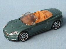 Matchbox Aston Martin DBS Volante Cabrio Convertable Green Toy Model Car 70mm