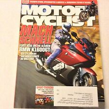 Motor Cyclist Magazine BMW K1600GT Triumph Storm May 2011 061517nonrh