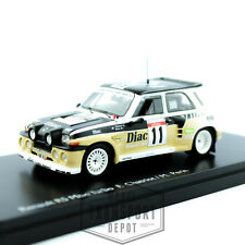 Schuco Renault 5 R5 Maxi Turbo Rally LTD Edition Miniature Scale Model Car 1:43