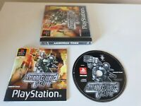 ARMOURED CORE. PS1 Game. Complete. RARE BLACK LABEL. (PlayStation One, PS3 PAL)