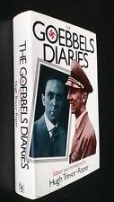 Hugh Trevor-Roper, ed. : The Goebbels Diaries. Hardcover, 1978