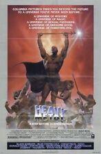 HEAVY METAL ORIGINAL FOLDED MOVIE POSTER STYLE B RICHARD CORBEN ART 1981 SCI FI