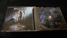 Megadeth ‎– Countdown To Extinction 1992 UK CAPITOL CD thrash speed
