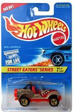 1996 Hot Wheels #415 Street Eaters #4 Roll Patrol rzr wheels