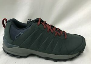 Oboz Women's Sypes Low Leather B-Dry Hiking Shoes 76102 Slate Size 11