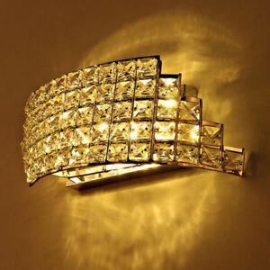 Modern Rhombu K9 Crystal LED Indoor Wall Sconce Wall Lights Fitting Light Decor