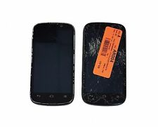 2 Lot ZTE Warp Sequent N861 GSM Boost Mobile Android 4.1 As is for Parts Replace