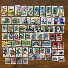 15 used setenant set singles US postage stamps