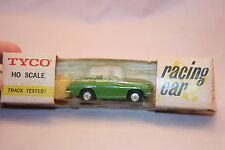Tyco S-632 1965 Corvette Stingray Convertible Light Green Vintage Slot Car MIB