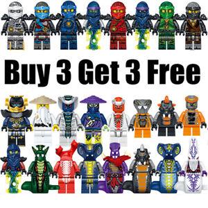 Buy 3 Get 3 Free - Ninjago MOC Custom MiniFigure Kids Gift