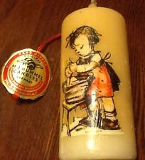 RARE Vintage Hummel Candle With Tag Wash Girl Great Collectible