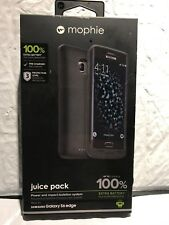 mophie juice pack for Samsung Galaxy S6 Edge (3,300mAh) - Black  BRAND NEW !!