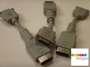 Apple HDI-45 to DB-15 Vintage Macintosh Video Adapter Cable RARE Mac 590-0796-A