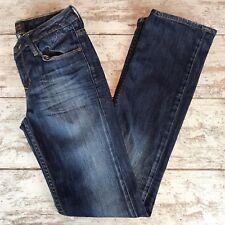 Ben Sherman Womens Dark Wash Jeans Christie 25 x 32