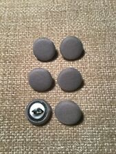 Dove Grey 24L/15mm Fabric Covered Buttons Craft Sewing Upholstery