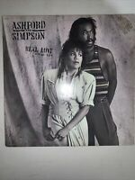 Ashford and Simpson - Real Love (1986) Vinyl LP • Count Your Blessings