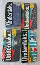VINTAGE 80s 4 x Bonds Underdaks Boys Hipsters Underwear - New in Package 8-10 8